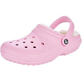 Crocs Classic Lined Sandaler pink